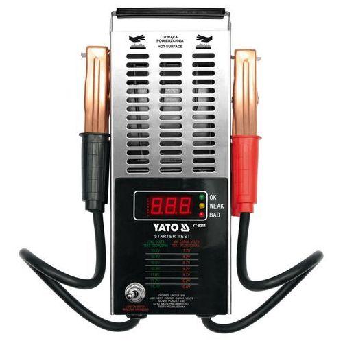 YATO Tester akumulatorów cyfrowy 12v YT-8311 (produkt wysyłamy w 24h)