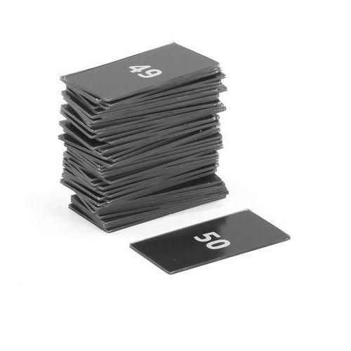 Aj produkty Tabliczki z numerami do szaf create, numery 1-50