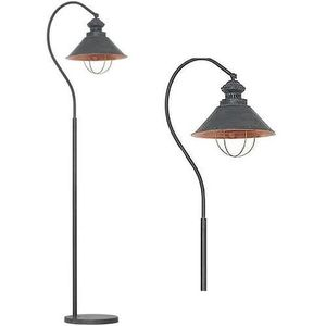 Nowodvorski loft taupe i lampa podłogowa 5056