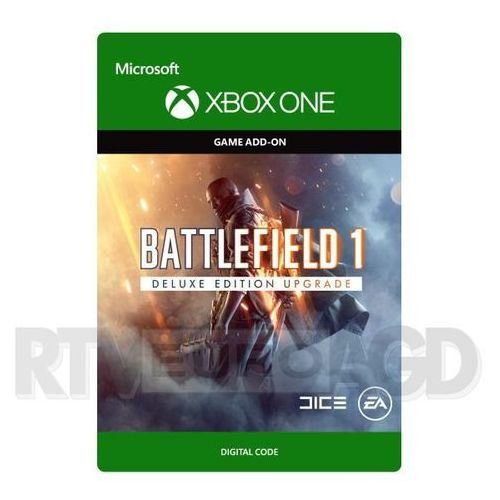 Battlefield 1 - deluxe upgrade edition [kod aktywacyjny] marki Microsoft