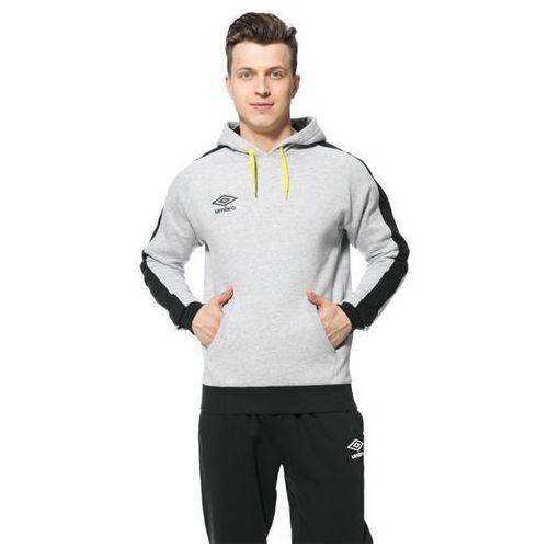 bluza contrast panel fleece hoodie, Umbro