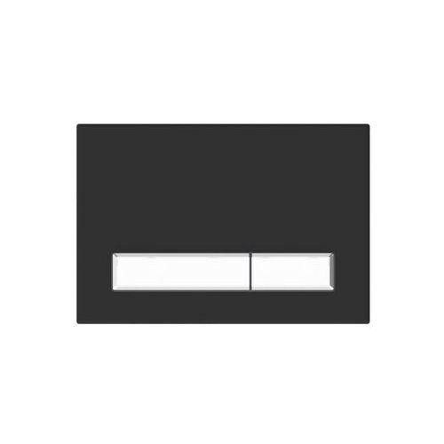 Kk-pol Przycisk spłukujący do stelaża m08v1 czarny czarny