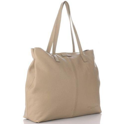 ee811d99ee73d Vittoria gotti Włoskie torby skórzane w rozmiarze xl na każda okazję  ziemiste (kolory)