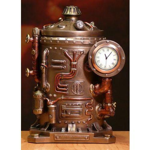 Maszyna Czasu zegar Szkatułka Steampunk