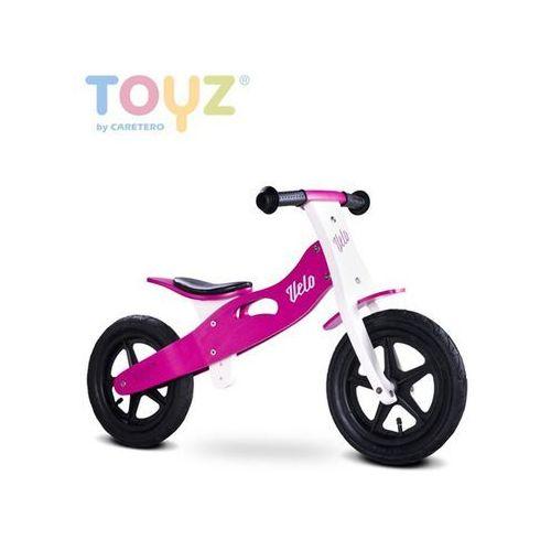 Rowerk biegowy drewniany  velo purple marki Toyz