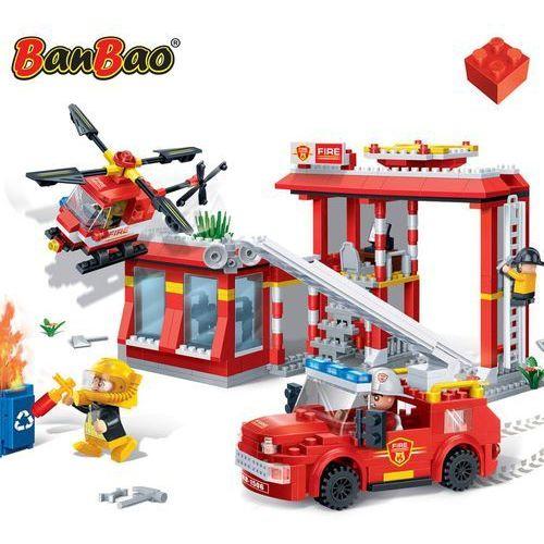 BanBao Klocki Straż Pożarna Remiza Strażacka