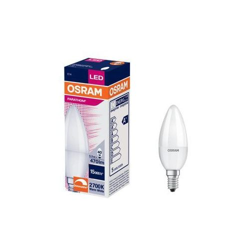 Żarówka LED E14 (230 V) 5.5 W 470 lm Ciepła biel OSRAM