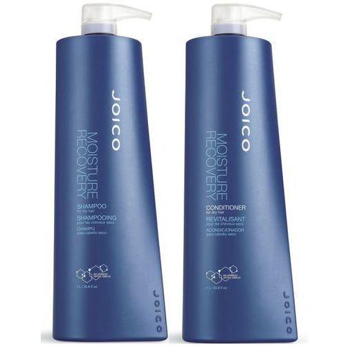 moisture recovery: zestaw szampon + odżywka do włosów suchych 2x1000ml marki Joico