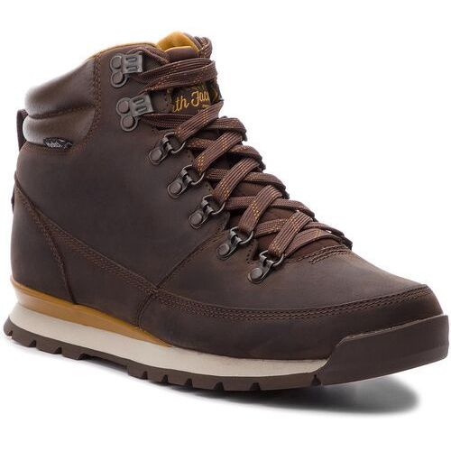 Trekkingi - back-to-berkeley redux leather t0cdl05sh chocolate brown/golden brown marki The north face