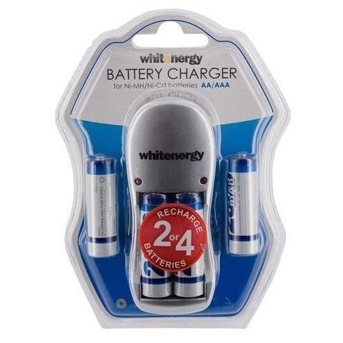 Ładowarka do akumulatorów WHITENERGY 4xAA/AAA 2800mAh Ni-Mh
