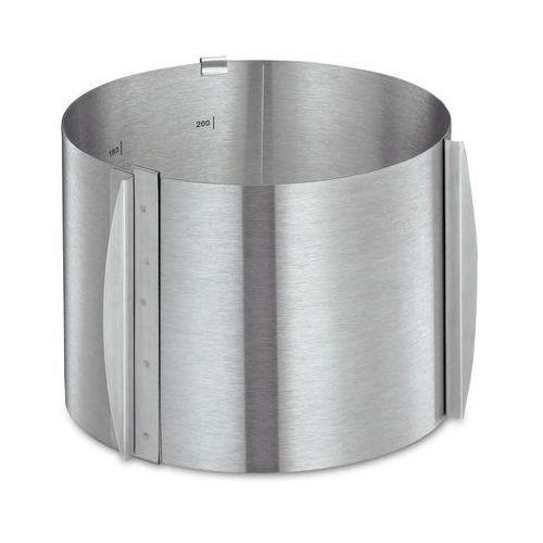 Kuchenprofi - pâtissier - regulowana obręcz do ciast, 15,00 cm - 15,00 cm