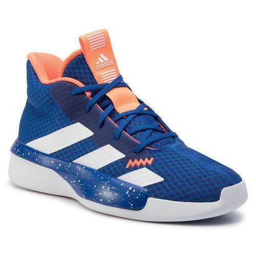 Buty - pro next 2019 k ef0856 blue/actgol/ftwwht marki Adidas