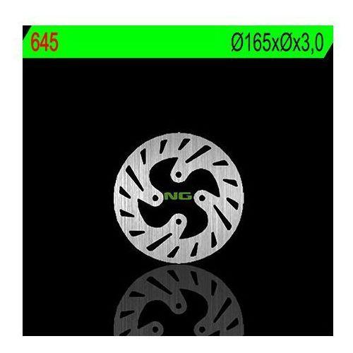 NG645 TARCZA HAMULCOWA BETA REV 3 125/200/250/270 '03-'08 (165X3) (4X10,5MM)