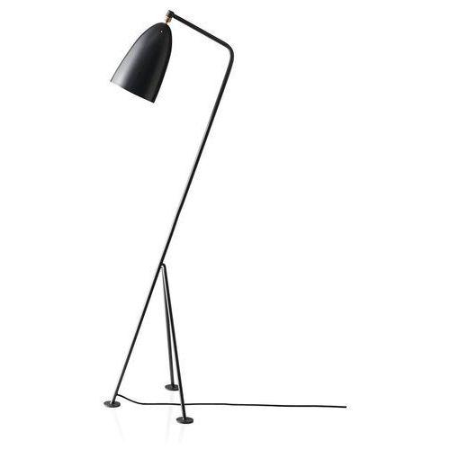 Lampa podłogowa VOLTA czarna - aluminium, kolor Czarny