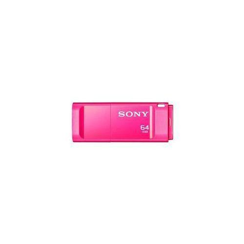 Sony Pamięć usb micro vault x 64gb (usm64gxp) różowy
