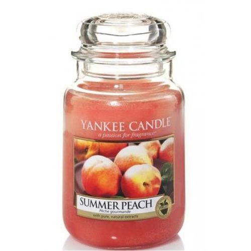 Stara mydlarnia Świeca yankee candle - summer peach / letnie brzoskwinie 623g