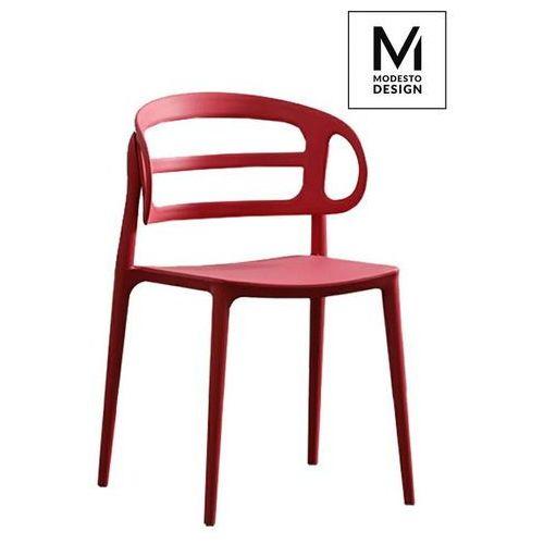 Modesto design Krzesło modesto marcus czerwone - czerwony (5900000049977)