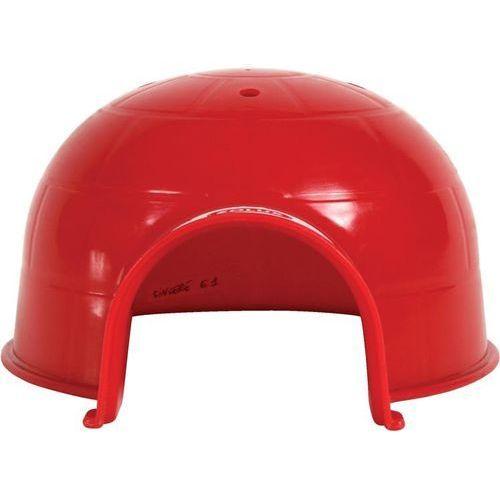 igloo dla gryzonia plastikowe małe kol. czerwony - darmowa dostawa od 95 zł! marki Zolux
