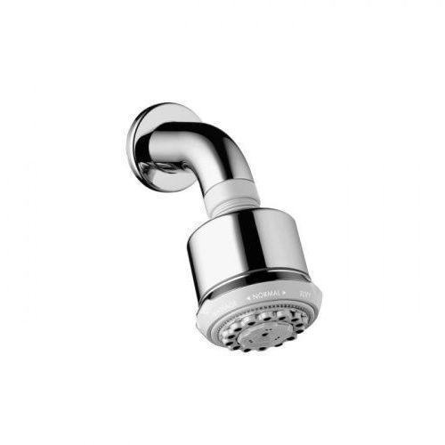 Hansgrohe classic shower głowica prysznicowa clubmaster z ramieniem prysznicowym 27475000