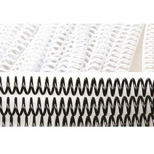 Grzbiety do bindowania spiralne, białe, 16 mm, 100 sztuk, oprawa do 120 kartek - Rabaty - Porady - Hurt - Negocjacja cen - Autoryzowana dystrybucja - Szybka dostawa