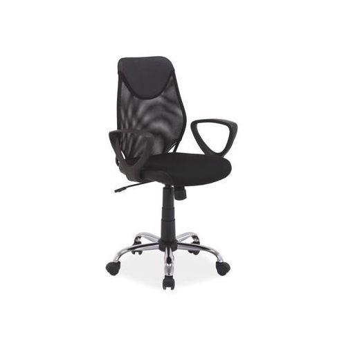 Fotel obrotowy, krzesło biurowe Q-146 black, Q-146 BK