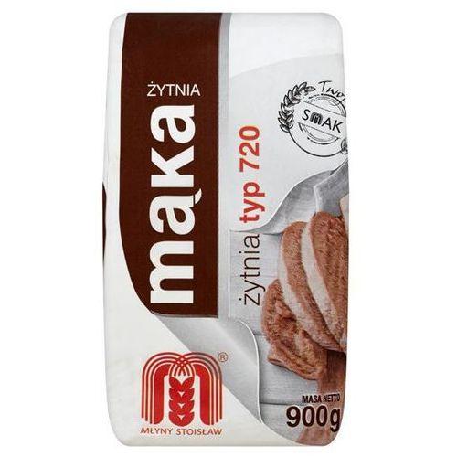 Mąka żytnia 0.9kg typ 720 marki Stoisław
