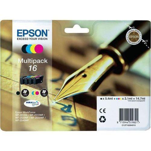 Zestaw tuszy t1626 cmyk do drukarek (oryginalny) [14.7ml] marki Epson