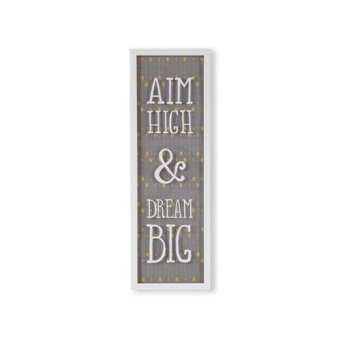 - dekoracja ścienna aim high & dream big marki Umbra