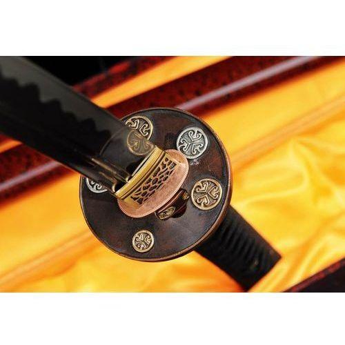 Kuźnia mieczy samurajskich Miecz samurajski katana do treningu, stal wysokowęglowa 1095, piękna saya r336