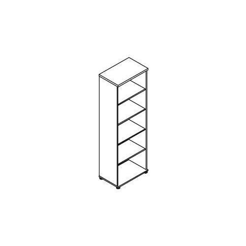 Regał otwarty H65 wymiary: 60,2x38,5x183,3 cm, H65