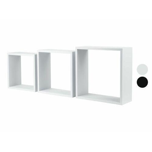 Livarnoliving® półka kwadratowa, 3 sztuki, 1 zestaw