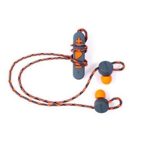 Boompods Retrobuds (szaro-pomarańczowy) - produkt w magazynie - szybka wysyłka!