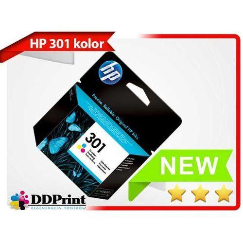 Oryginalny tusz HP 301 CH562EE kolor do HP Deskjet 1050 2050 3000 3050