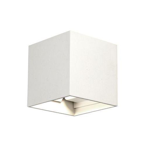 Nowodvorski Kinkiet lima 9510 lampa ścienna ogrodowa 1x6w led ip54 biały (5903139951098)