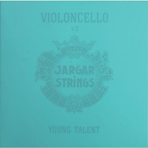 (638947) struna do wiolonczeli - d ′′young talent′′ 1/2 medium marki Jargar