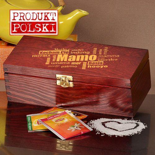 Pudełko z herbatą lipton- dla mamy marki Specially4u