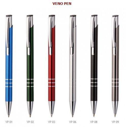Długopisy metalowe veno pen + dowolny grawer laserem marki Grawernia.pl - grawerowanie i wycinanie laserem