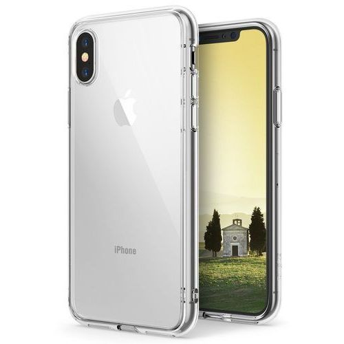 Rearth Etui ringke fusion apple iphone xs max clear - przezroczysty