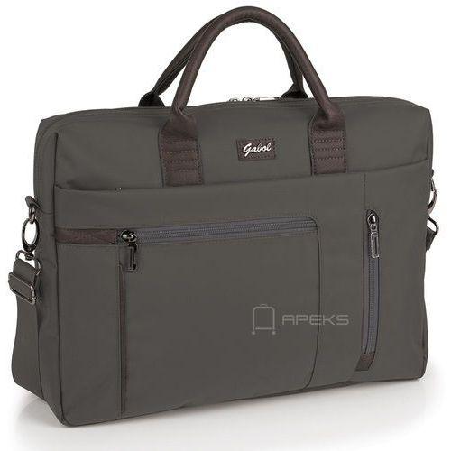 Gabol dallas damska torba na laptopa 15,6'' / gris - gris (8425126163545)