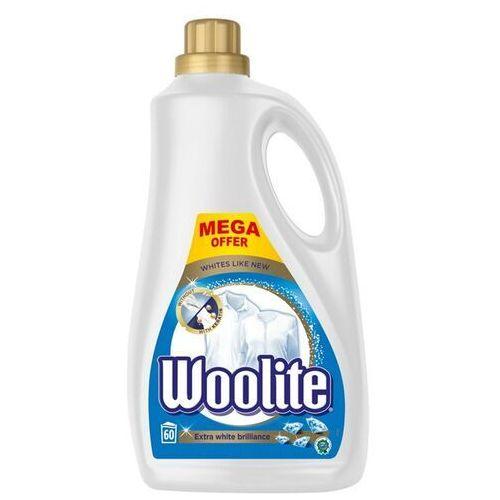 Extra white brilliance płyn do prania bieli i jasnych tkanin z keratyną 3600ml marki Woolite