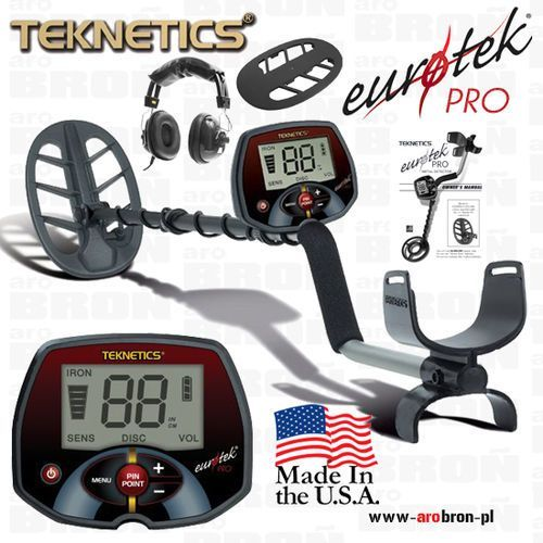 Teknetics wykrywacze Wykrywacz metalu teknetics eurotek pro cewka 11