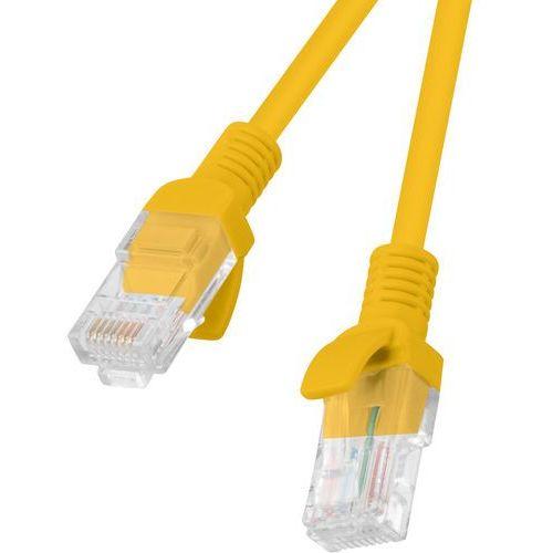 Kabel sieciowy LAN RJ45 - RJ45 LANBERG 5 m Pomarańczowy (5901969419252)