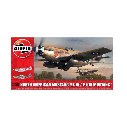 Airfix Model plastikowy north american mustang mk.iv (5055286649738)