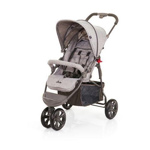 ABC Design wózek dziecięcy Treviso 3 woven 2018 grey