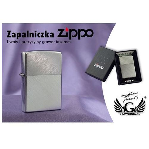 Zippo Zapalniczka herringbone sweep