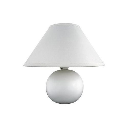 Rabalux Lampa stołowa lampka ariel 1x40w e14 biała 4901