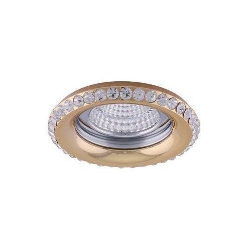 Oczko halogenowe 1X50W GU10 71081 Złoty LUXERA, 71081