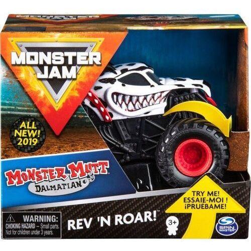 Spin master Pojazd monster jam auto warczące opony dalmation