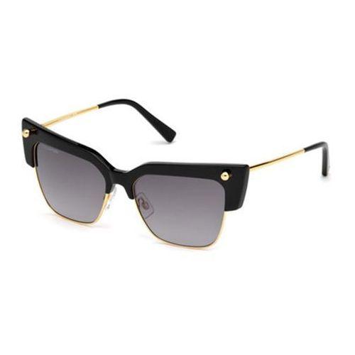 Okulary Słoneczne Dsquared2 DQ0279 Federica 01B, kolor żółty