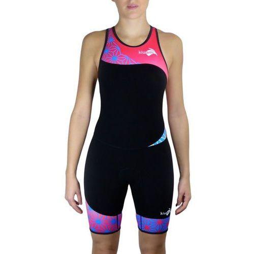 Kiwami tokyo openback kobiety różowy/czarny s 2018 pianki do pływania (3663471142593)